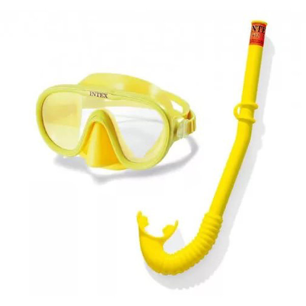 Набор для плавания маска и трубка Adventure Swim Intex 55642